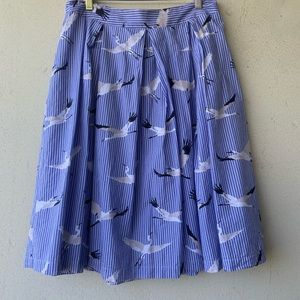 Dresses & Skirts - Who What Where adorable crane skirt